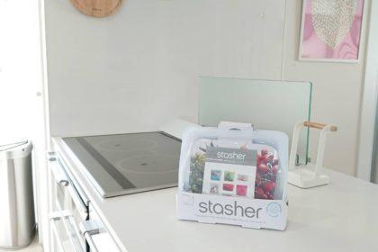 stasherのシリコンバッグ活用術