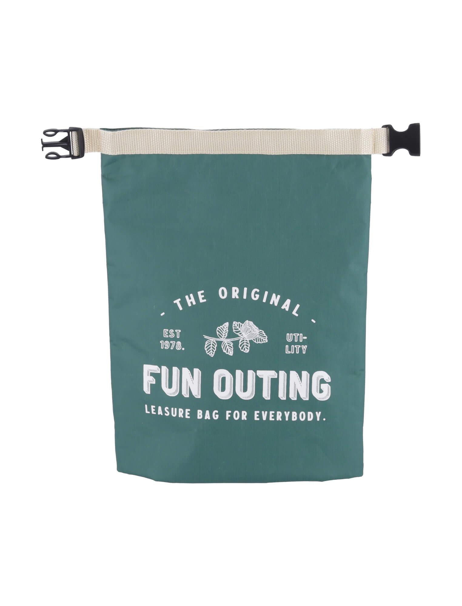 底が四角く、お弁当箱が安定しやすいランチバッグ