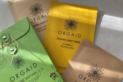ORGAIDのシートマスクで冬の肌荒れケア