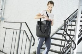 ジム通いには機能性の高い大きめバッグを