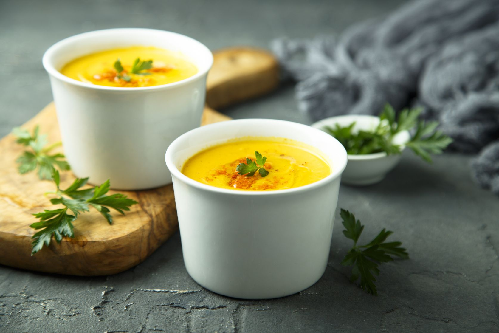 じゃがいもやかぼちゃのスープ玉