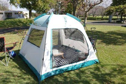 デカトロンのテントでいつもの日常が特別に
