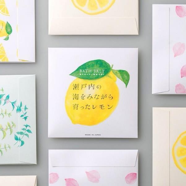 瀬戸内レモンの甘酸っぱく爽快な香りを堪能