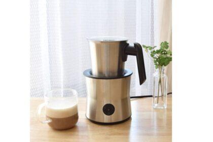 ミルクを泡立てるミルクフォーマーがあればおうち時間が贅沢に