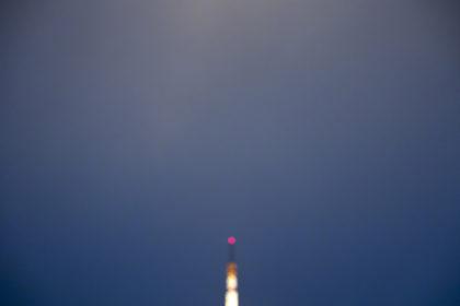 東京タワーの消灯の瞬間