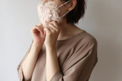 編み物マスク