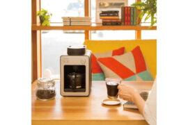 sirocaのコンパクトなコーヒーメーカー