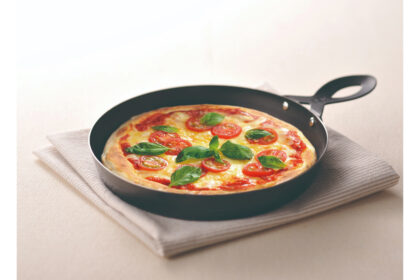 魚焼きグリルで石窯風ピザ