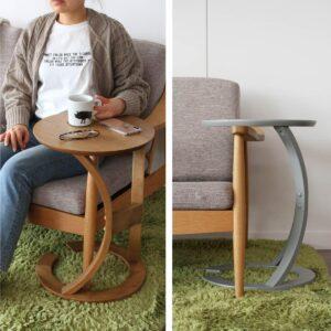 スタイリッシュで機能的なサイドテーブル/LOTUS Side Table