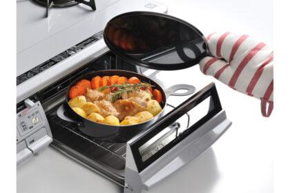 グリルダッチオーブンで本格調理