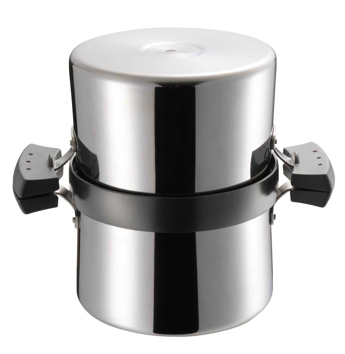 揚げ物調理がもっと簡単に。1台3役の有能フライ鍋