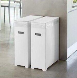 スリム蓋付きゴミ箱