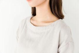 1柔らかい肌触りのガーゼ素材ウェアは部屋着やパジャマにピッタリ