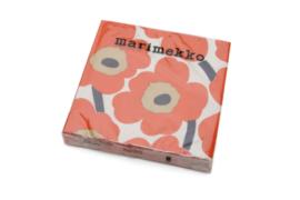 Marimekkoのウニッコ柄ペーパーナプキン