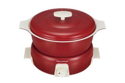 鍋料理もたこ焼きも卓上で楽しめる可愛い小鍋、ポットデュオ タント
