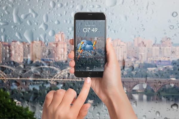 大雨対策①天気予報やアラートを見よう