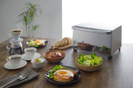 ツインバードのミラーガラスオーブントースター