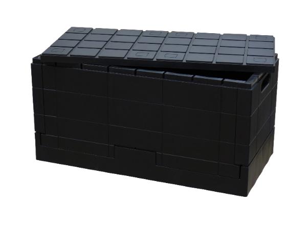 ブロックのような収納コンテナでおしゃれに見せる収納を