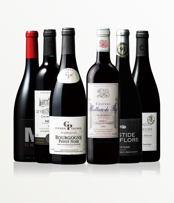 【半額SALE! 10/4まで】フランス産赤ワイン6本セット