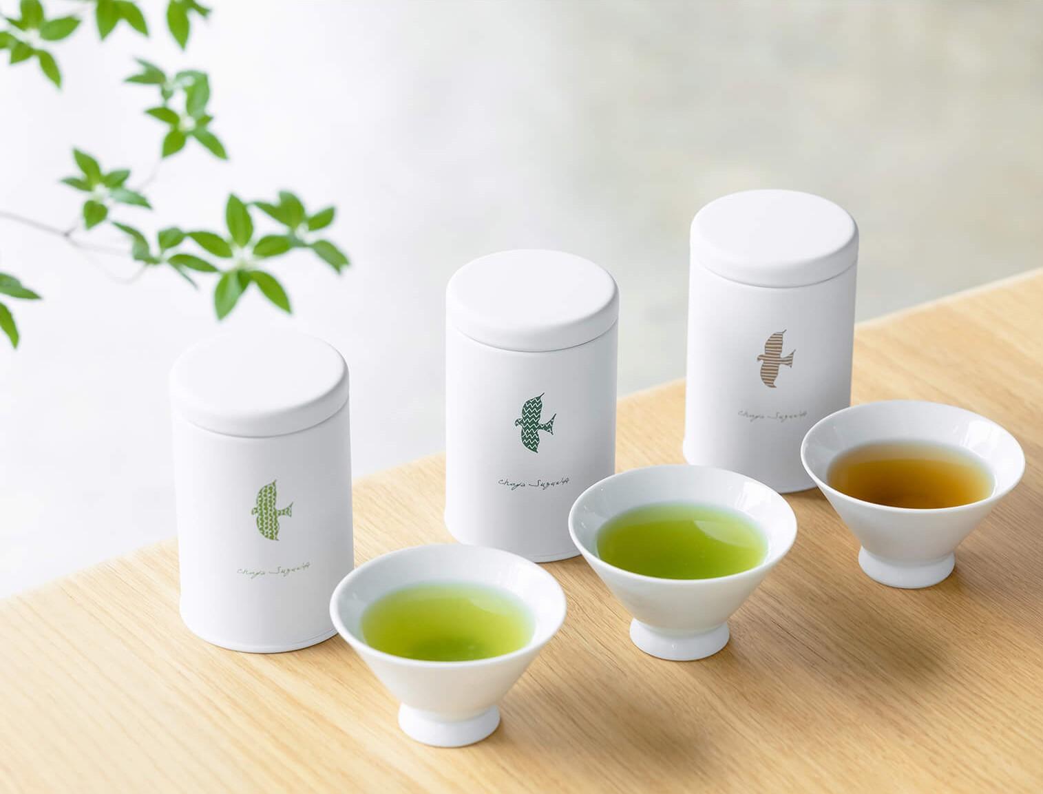 【別送】<茶屋すずわ>ときのお茶3缶セット