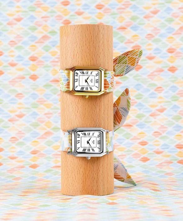 <RICH GONE BROKE>フランス・パリで生まれた ストラップが楽しめる腕時計/District(ムーブメント)