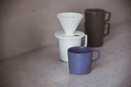 シンプルで上品な質感のARITA JIKIのマグカップ