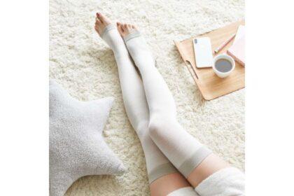疲れた足を心地よくケア。寝ている間も快適なフェスティノの着圧靴下