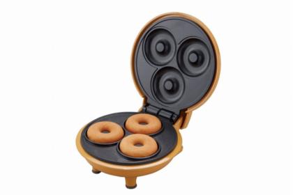 おうち時間におすすめ。ホットケーキミックスでドーナツが作れるミニホットプレート
