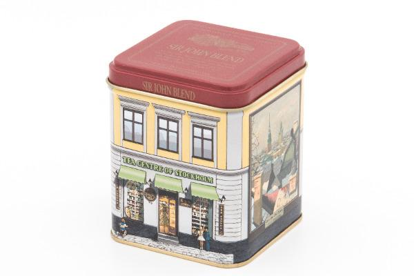 保存缶として活用できる紅茶缶のデザインも秀逸