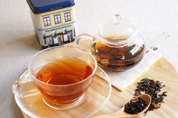 セイロンをベースにした北欧紅茶のスパイスブレンドで温まろう