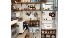 憧れの北欧風キッチン